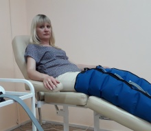 Прессотерапия (баротерапия, лимфодренаж)